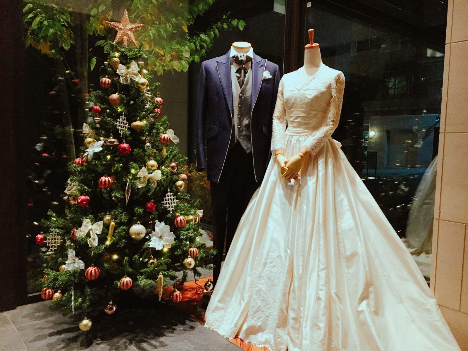 クリスマスにぴったりウェディングドレス タキシード Ar Yukiko